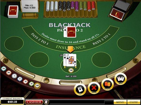 Afbeeldingsresultaat voor Online blackjack